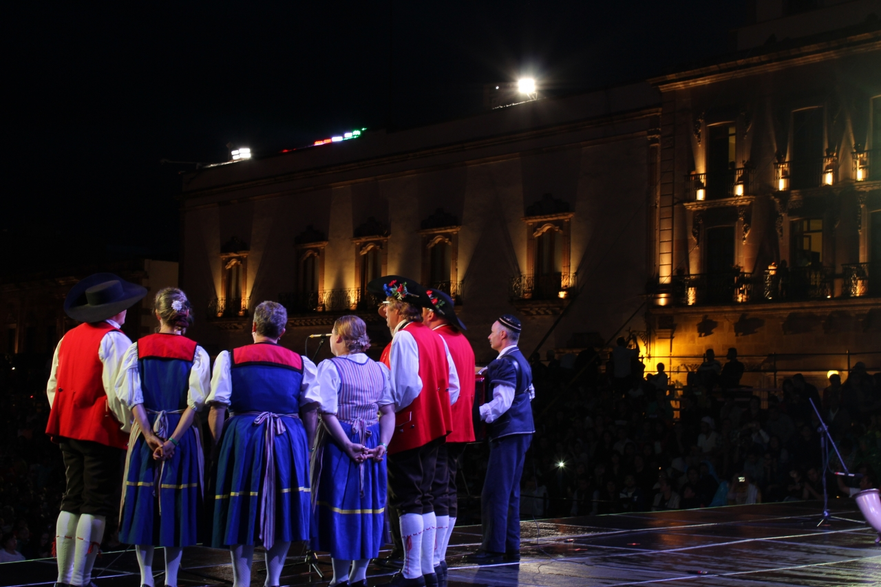 Auftritt Plaza de Armas